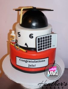 accounting graduation cake