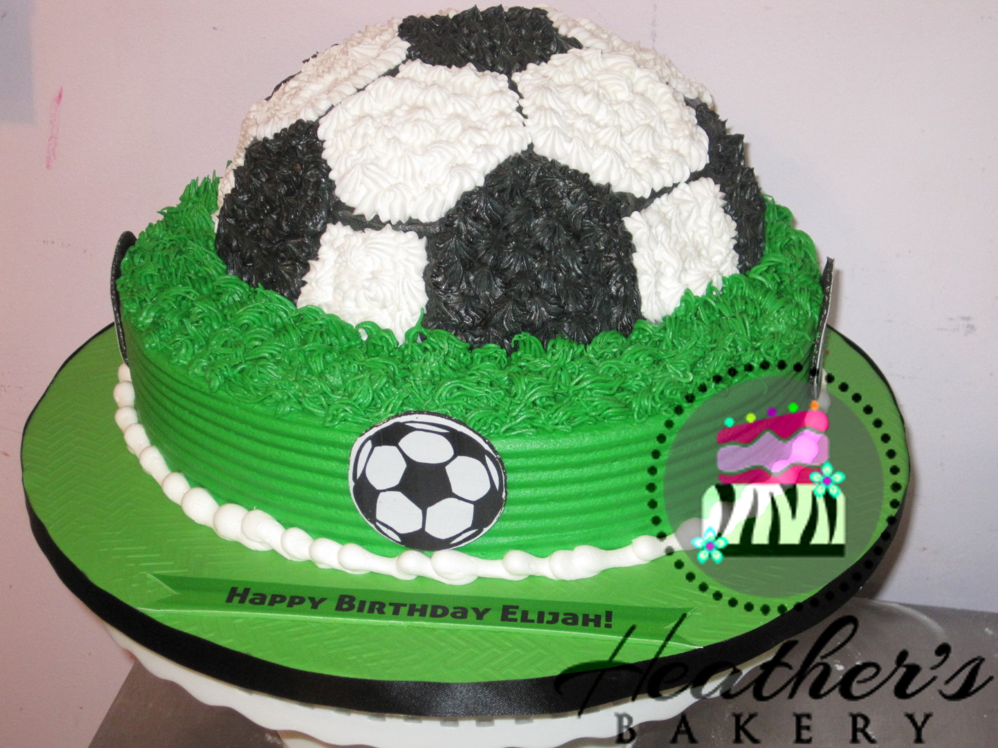 Soccer Birthday Cake Heathers Bakery