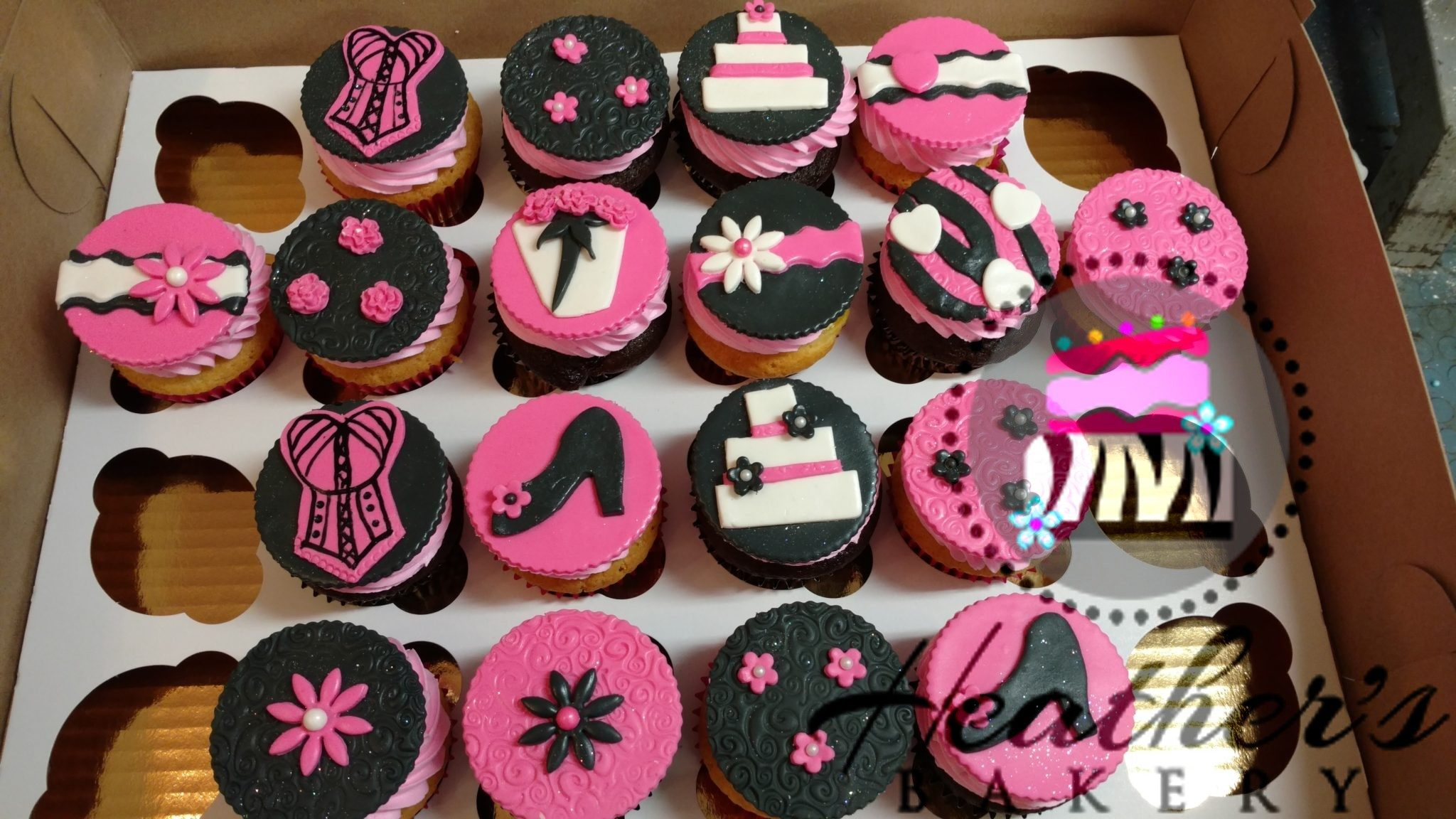Shower Cupcakes