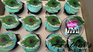 peacockfeather cupcakes